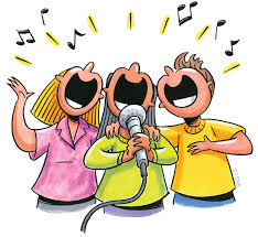 singing together